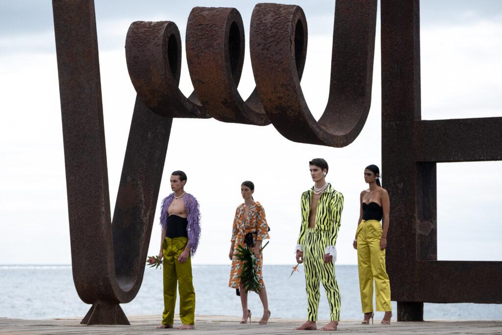 Héctor León presenta su colección homenaje a Rosario Miranda en Tenerife Volcanic Fashion de Tenerife Moda